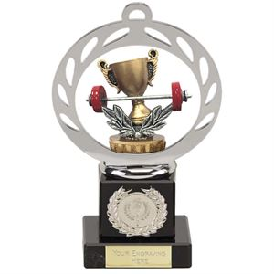 Weightlifting Trophies & Medals