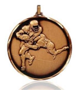 Embossed American Football Medals