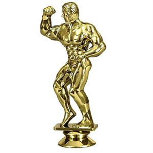 Figure Top Body Building Trophies