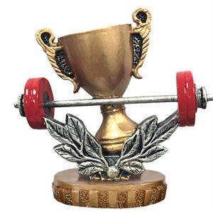 Figure Top Weightlifting Trophies