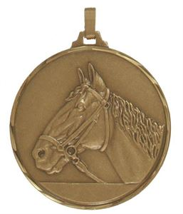 Embossed Equestrian Medals