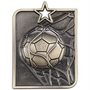 Embossed Football Medals