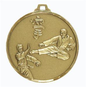 Embossed Karate Medals