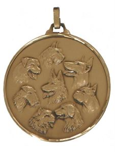 Picture for category Embossed Dog Show Medals