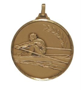 Embossed Rowing Medals