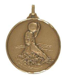 Embossed Water Polo Medals