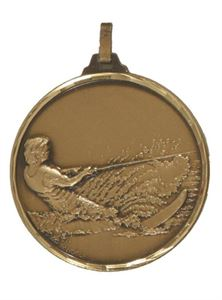 Embossed Water Skiing Medals