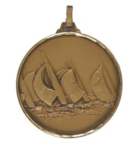 Embossed Sailing Medals