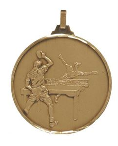 Embossed Table Tennis Medals