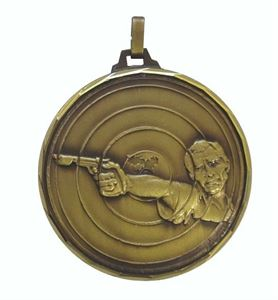 Embossed Shooting Medals
