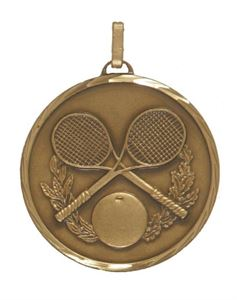 Embossed Squash Medals