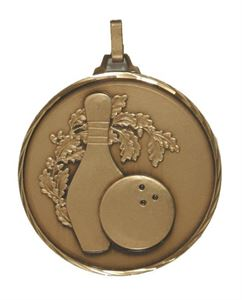 Embossed Medals for Ten Pin Bowling