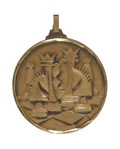 Embossed Chess Medals