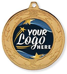 Powerlifting Medals with Your Logo