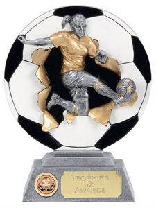 Womens Football Trophies