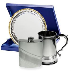 Tankards, Flasks & Trays for Charities