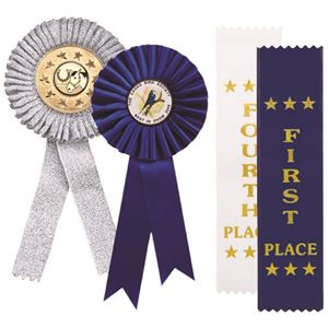 Picture for category Rosettes & Place Ribbons for Majorettes