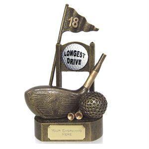 Longest Drive Golf Trophies