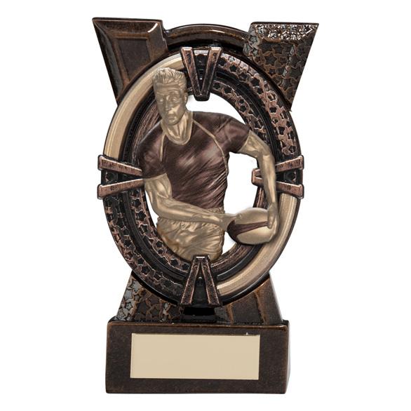 Maverick Spirit Rugby Player Trophy Small - RF16018A