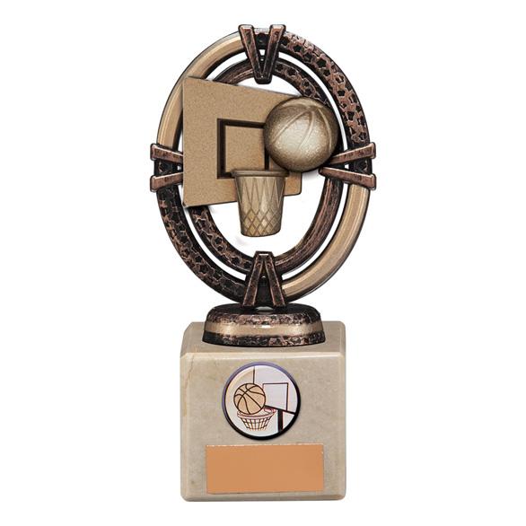 Maverick Legend Basketball Trophy Bronze - TH16002