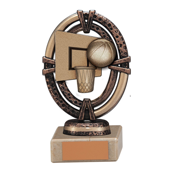 Maverick Legend Basketball Trophy Bronze Small - TH16002A