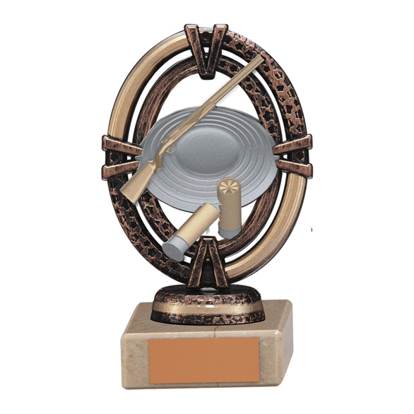 Maverick Legend Clay Pigeon Trophy Bronze Small - TH16005A