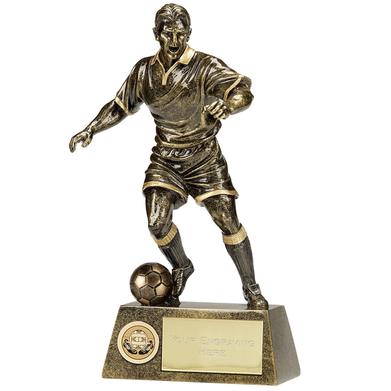 Pinnacle Football Male Trophy - A1090