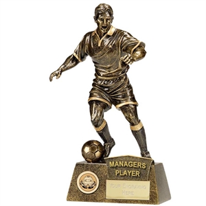 Pinnacle Football Managers Player Award Trophy