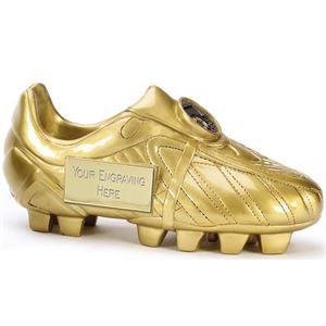 Premier 3D Golden Football Boot Trophy - A1391