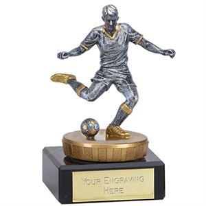 Classic Flexx Footballer Silver Trophy (Small)