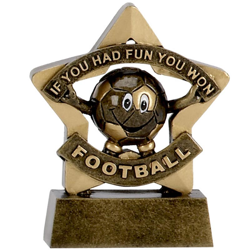 Mini Star Football Participation Trophy - A1129