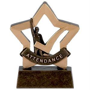 Mini Star Attendance Trophy - A974