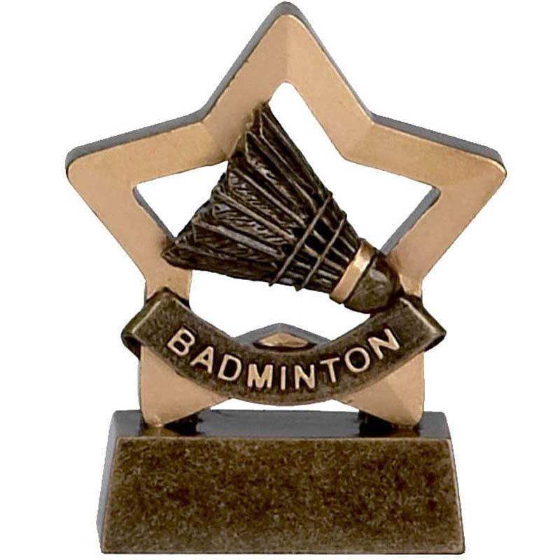 Mini Star Badminton Trophy - A967