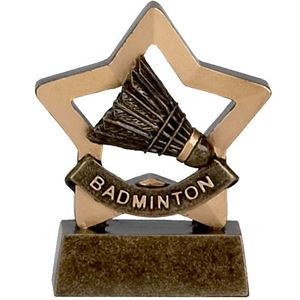 Mini Star Badminton Trophy - A967