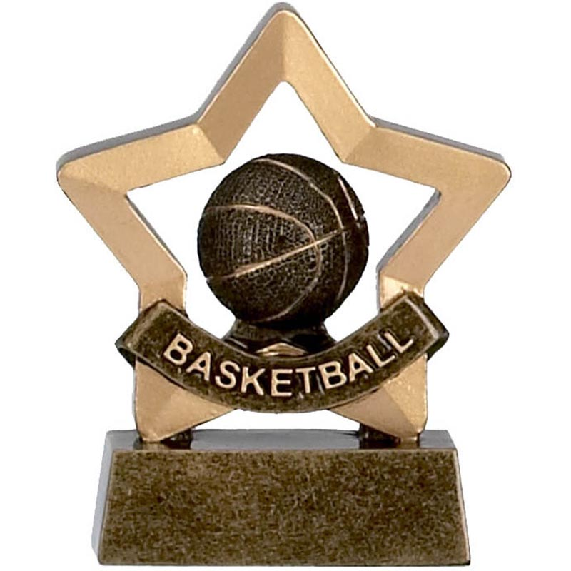 Mini Star Basketball Trophy - A964 | Impact Trophies