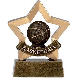 Mini Star Basketball Trophy - A964