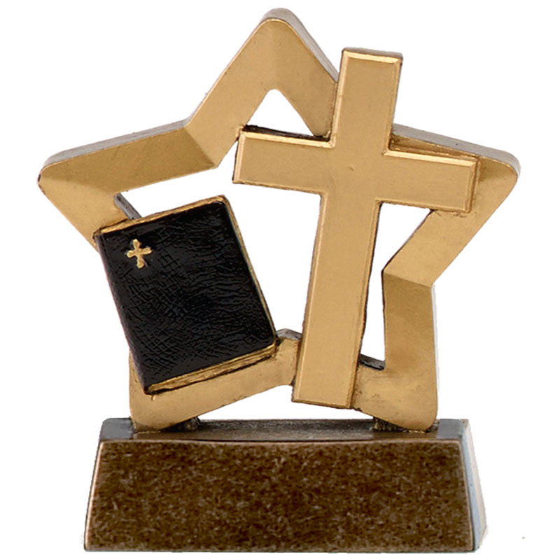 Mini Star Christianity Trophy