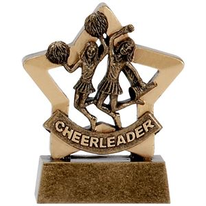 Mini Star Cheerleader Trophy - A1125
