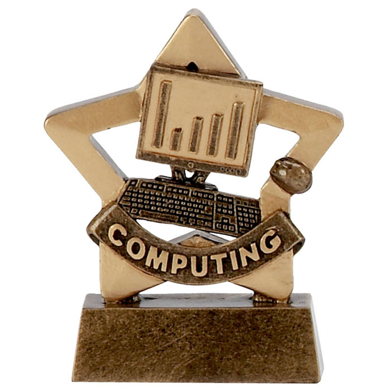 Mini Star Computing Trophy - A1121