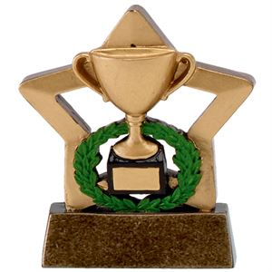Mini Star Gold Cup Trophy - A1627