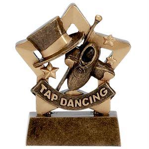 Mini Star Tap Dancing Trophy - A1124