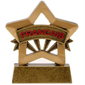 Mini Star French Trophy - A1670