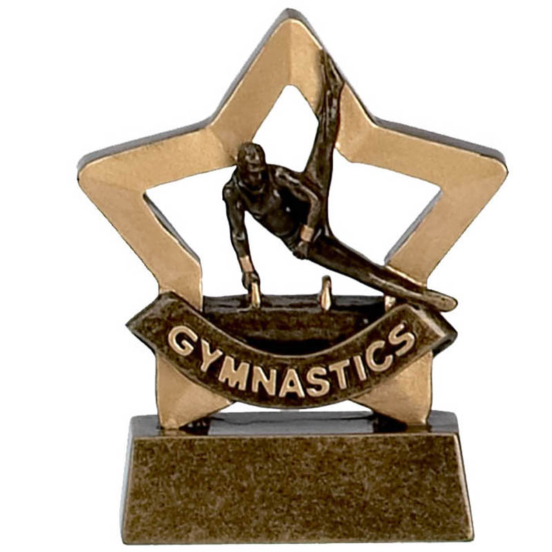 Mini Star Male Gymnastics Trophy - A961
