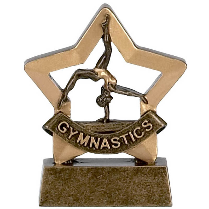 Mini Star Female Gymnastics Trophy - A962