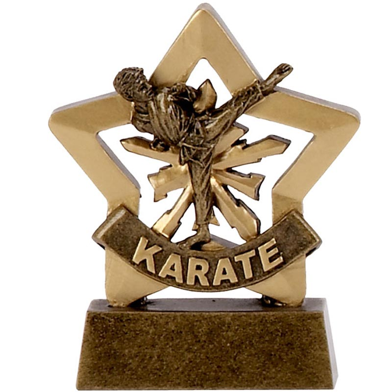 Mini Star Karate Trophy - A1111