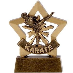 Mini Star Karate Trophy