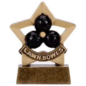 Mini Star Lawn Bowls Trophy