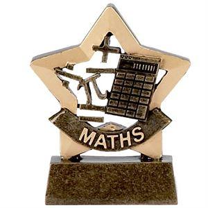 Mini Star Maths Trophy - A950