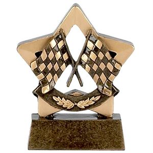 Mini Star Racing Flags Trophy - A977