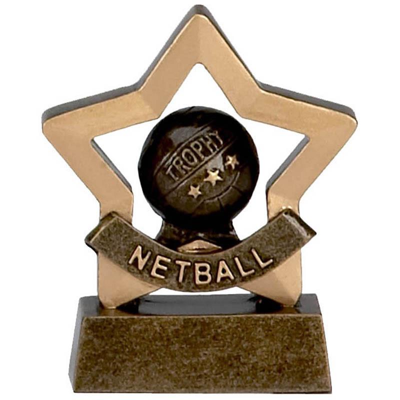 Mini Star Netball Trophy - A965